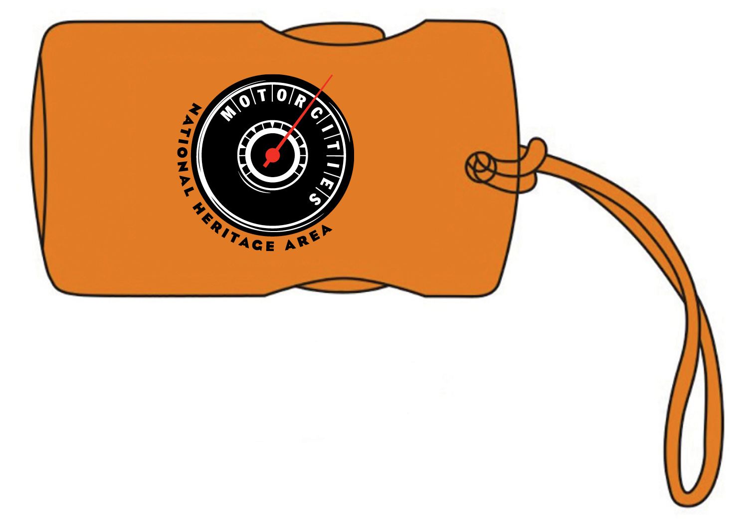 MotorCities Luggage Tag
