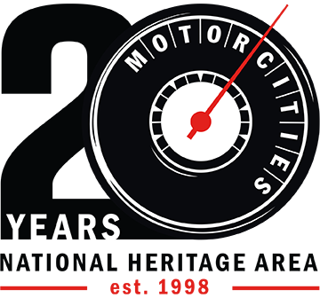 MotorCities 20th logo