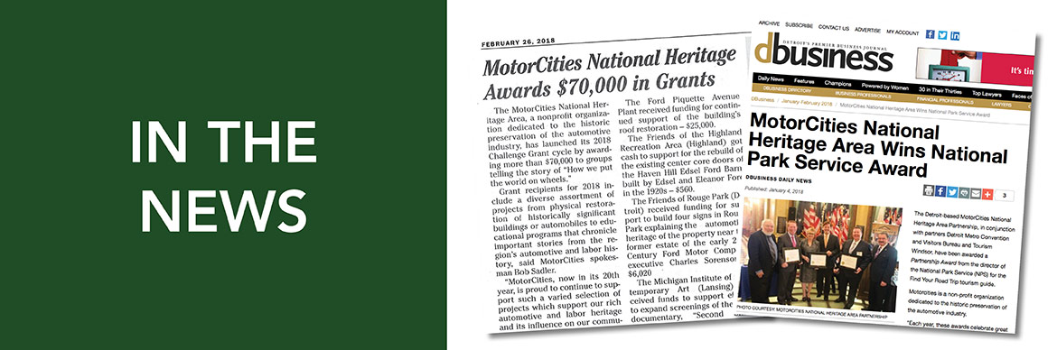 MotorCities In The News Button
