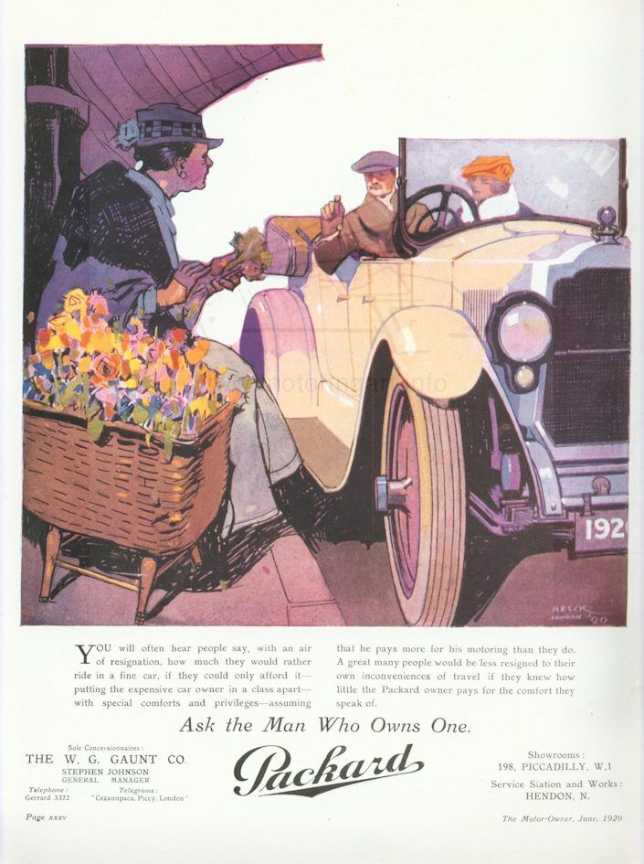 Early Packard ad 4 Tate Collection