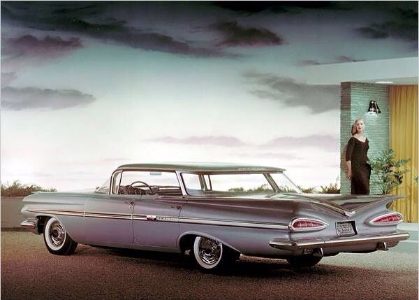1959 Chevrolet ad illustration Tate Collection