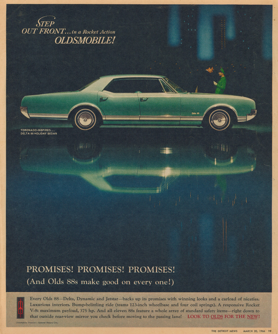 1966 Oldsmobile ad 7 Tate Collection RESIZED