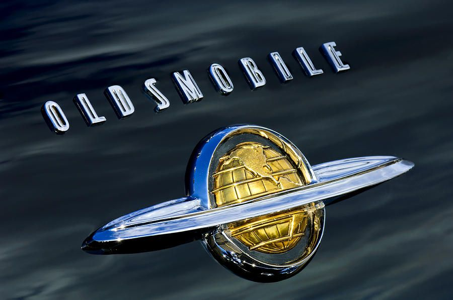An Oldsmobile emblem design from the 1940s GM Media Archives