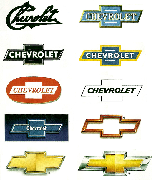 The history of Chevrolet logos GM Media Archives