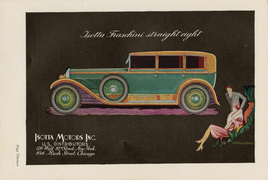 Isotta Motors Inc advertisement 1929 NAHC 5 RESIZED
