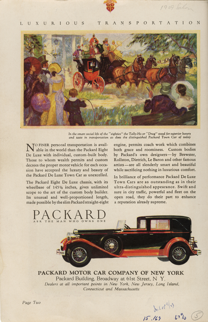 Packard advertisement 1920s NAHC 2