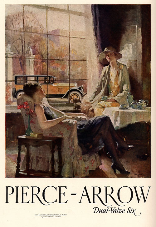 Pierce Arrow advertisement 1920s NAHC 6