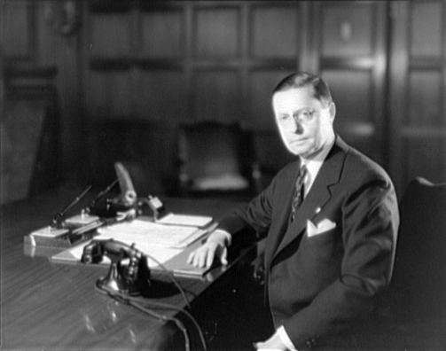 Roy D. Chapin at desk at the Hudson Motor Car Company 4