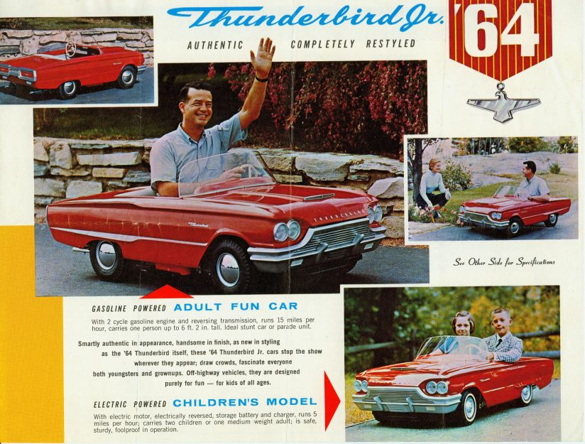 1964 Ford Thunderbird Jr model for children Robert Tate Collection 7