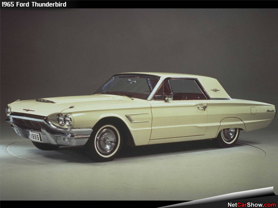 1965 Ford Thunderbird Robert Tate Collection 4 RESIZED