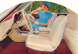 1965 Ford Thunderbird interior with passenger Robert Tate Collection 6