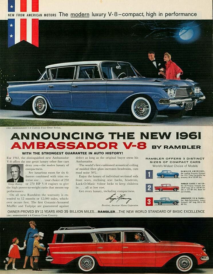 1961 Rambler Ambassador ad Robert Tate Collection 2 RESIZED