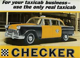 Checker cab ad 1960s 6 Tate Collection