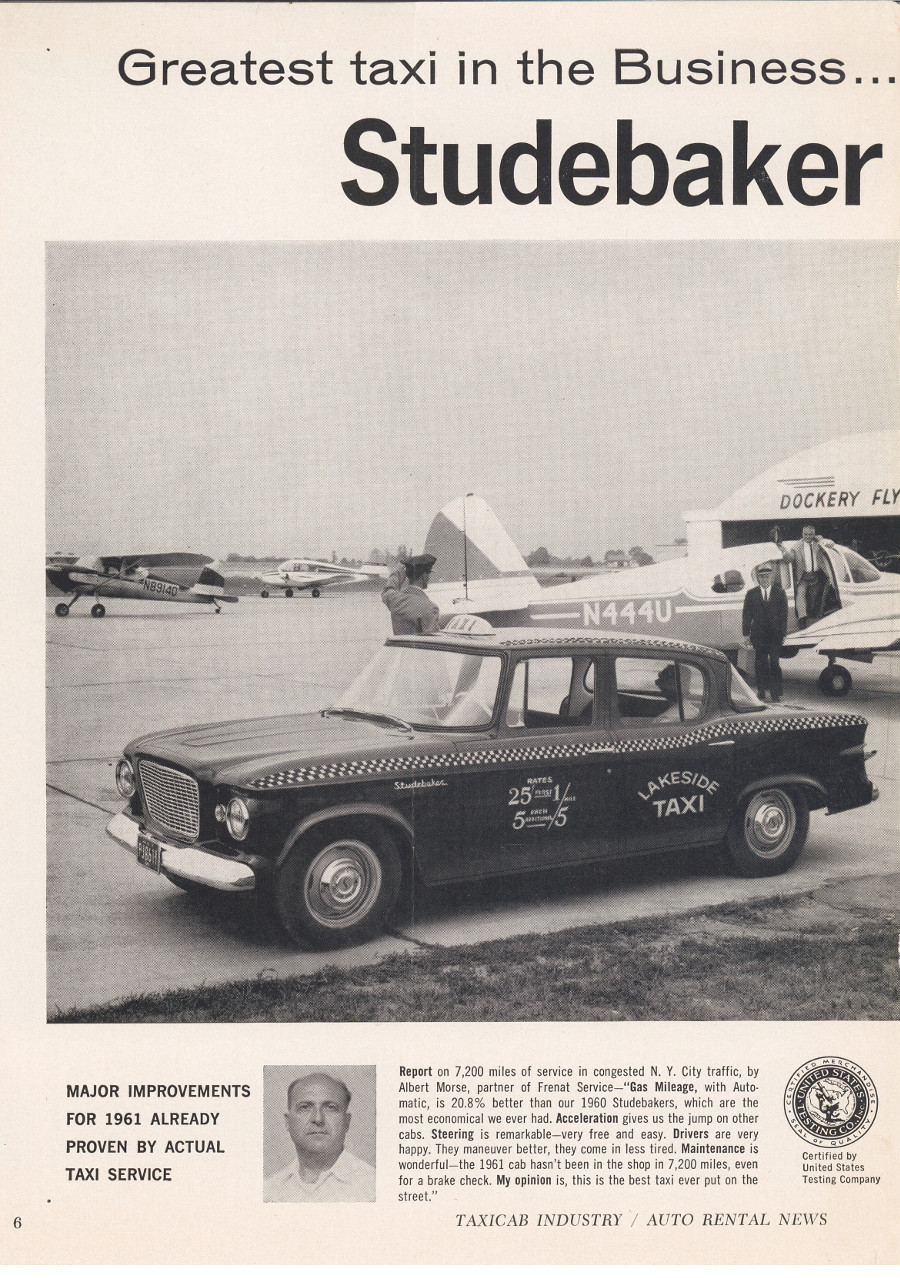 Studebaker 1959 taxicab ad 4 Tate Collection RESIZED
