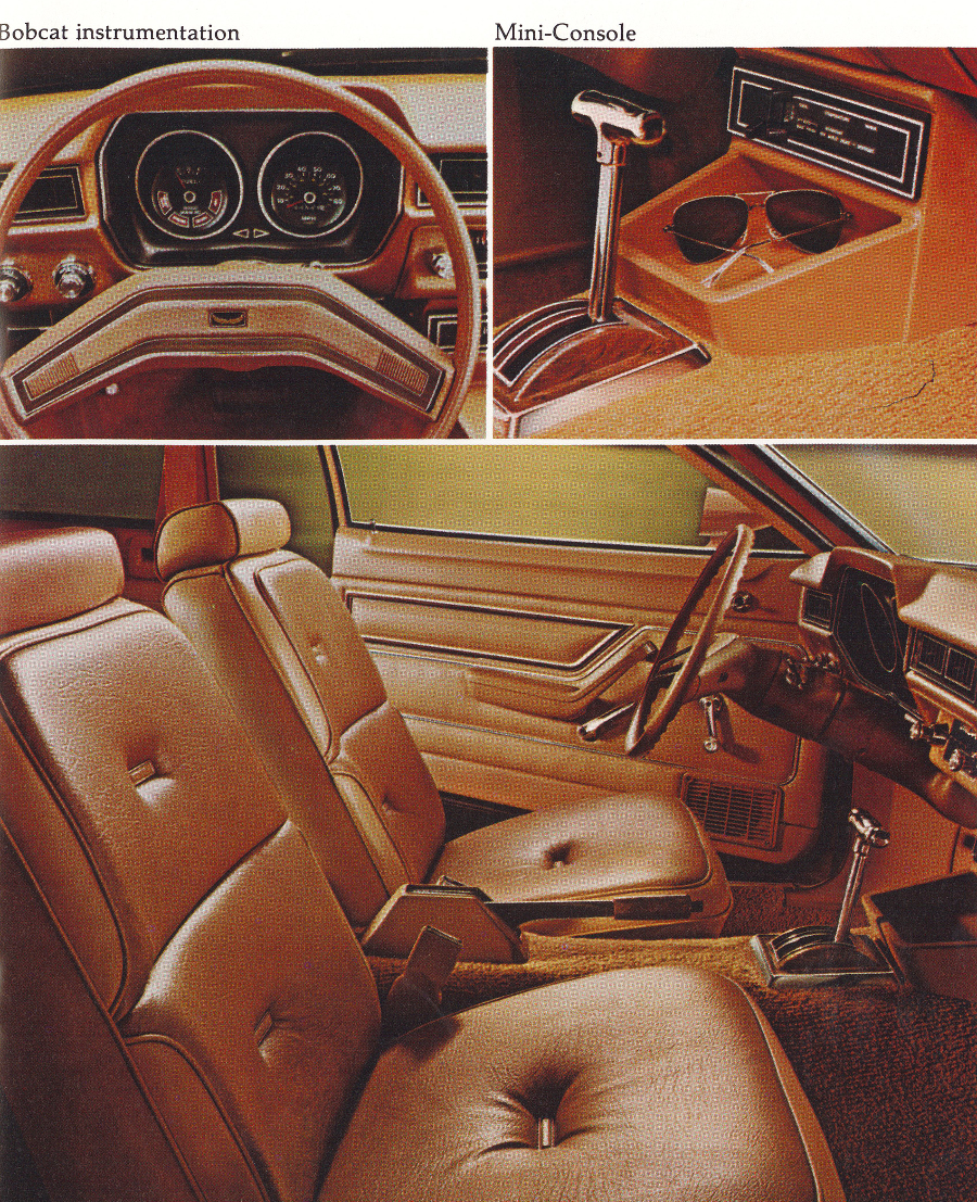 1977 Mercury Bobcat Sport interior Tate Collection 5 RESIZED
