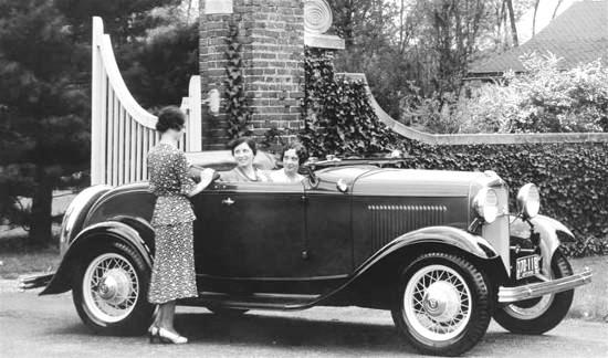 1932 Ford Phaeton Roadster Ford Motor Company 1