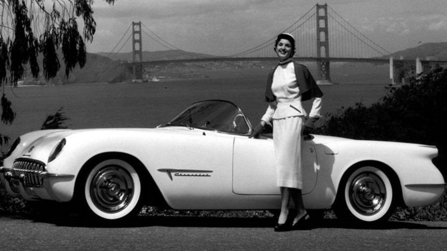 1953 Chevrolet Corvette promotional photo General Motors 1 RESIZED