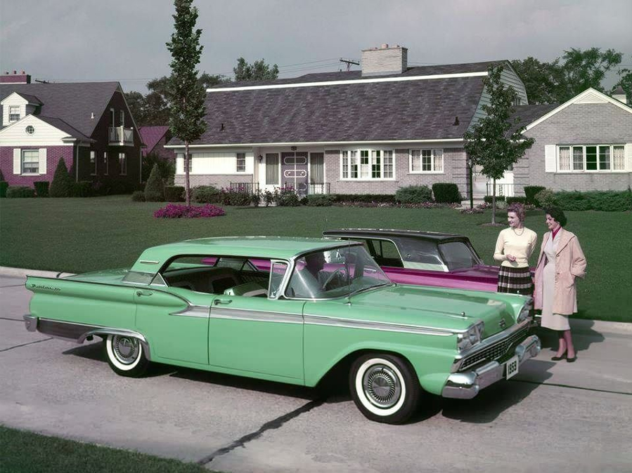 1959 Ford four door promotional shot Ford Motor Company Archives 1 RESIZED