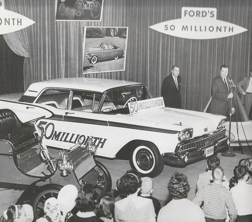 1959 Ford identified as the 50 millionth made Ford Motor Company Archives 2