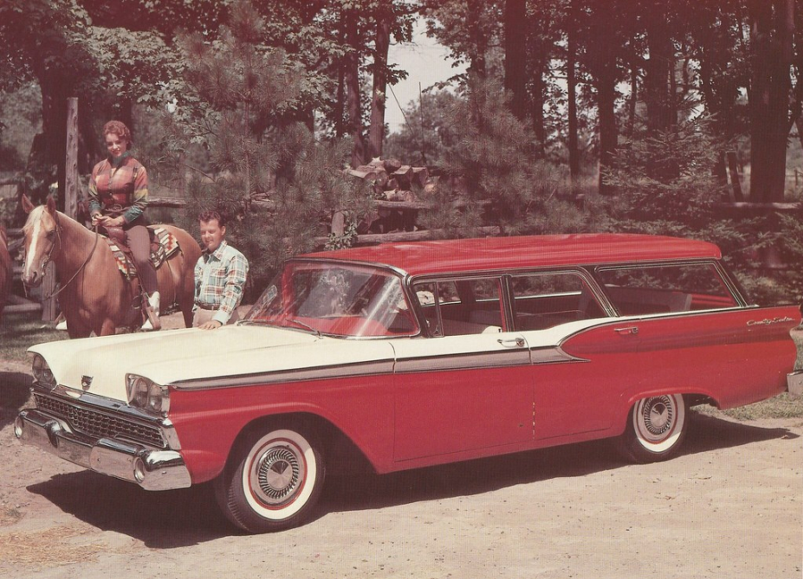 1959 Ford station wagon Ford Motor Company Archives 8 RESIZED