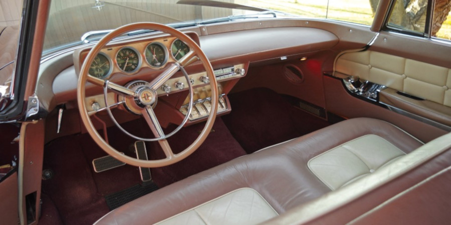 1956 Continental Mark II interior Barrett Jackson RESIZED 8