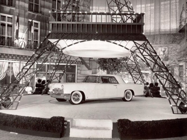 The 1956 Continental at the Paris Auto Show Ford Motor Company Archives 4