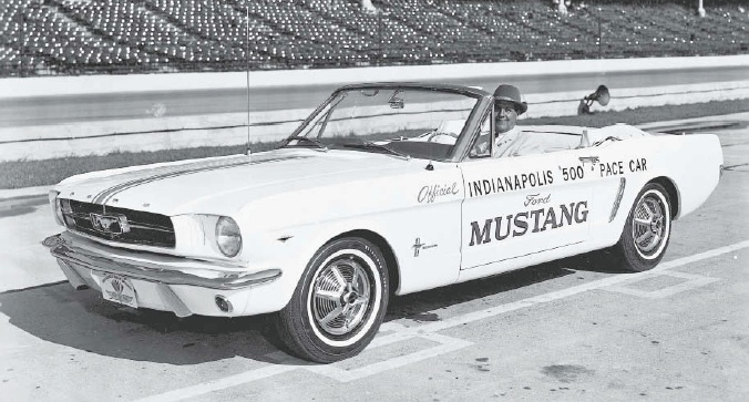 1964 Ford Mustang Indianapolis 500 Pace Car Ford Motor Company Archives 7