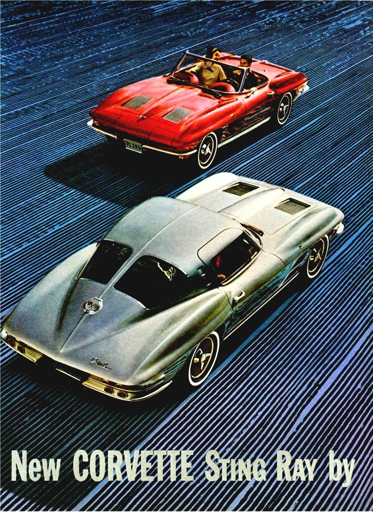 1963 Corvette ad 2 Tate Collection 4