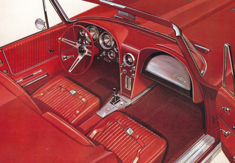6 1963 Corvette interior Tate Collection RESIZED 6