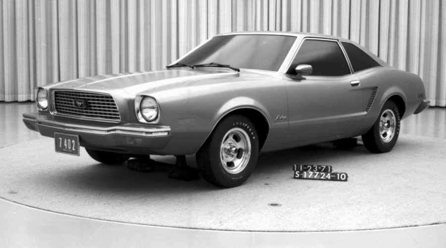 1974 Mustang full size clay mockup Ford Motor Company Archives RESIZED 2