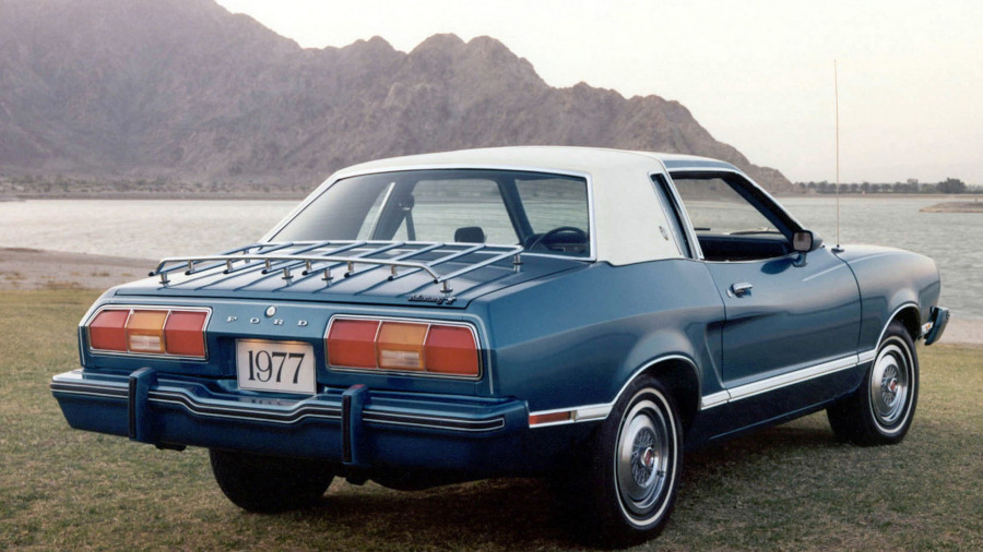 1977 Mustang rear view Ford Motor Company Archives RESIZED 9