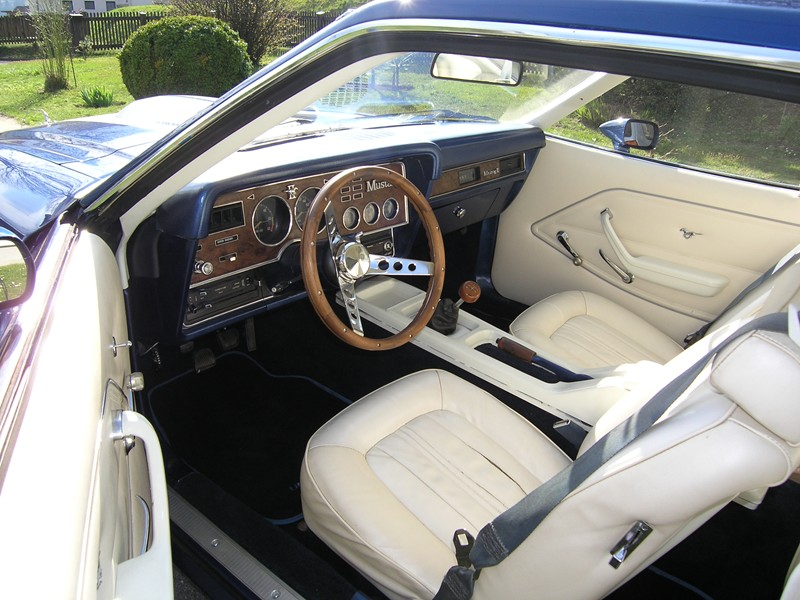 Ford Mustang II interior Ford Motor Company Archives 5