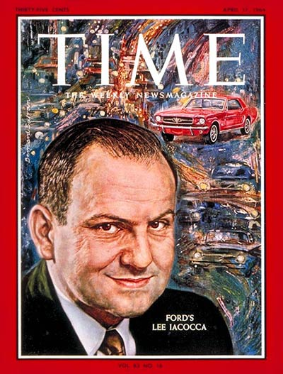April 1964 Time Magazine cover featuring Lee Iacocca 4