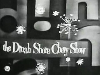 Dinah Shore Chevy Show NBC TV 11