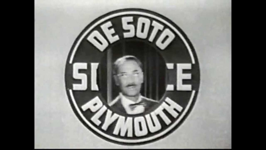 Groucho Marx You Bet Your Life sponsored by DeSoto Plymouth Dealers NBC TV RESIZED 6