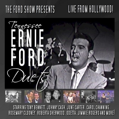 Tennessee Ernie Ford on The Ford Show NBC TV 9