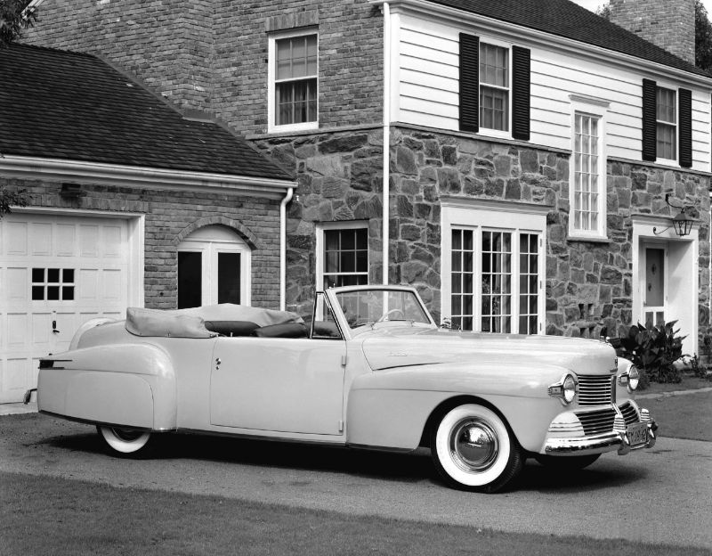 1942 Lincoln Continental Cabriolet Ford Motor Company Archives 3