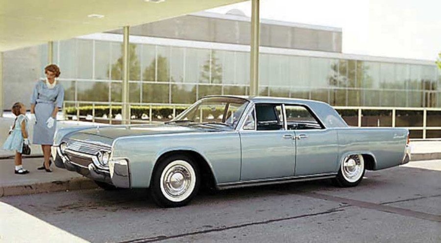 Advertising image for the 1961 Lincoln Continental Ford Motor Company Archives RESIZED 7