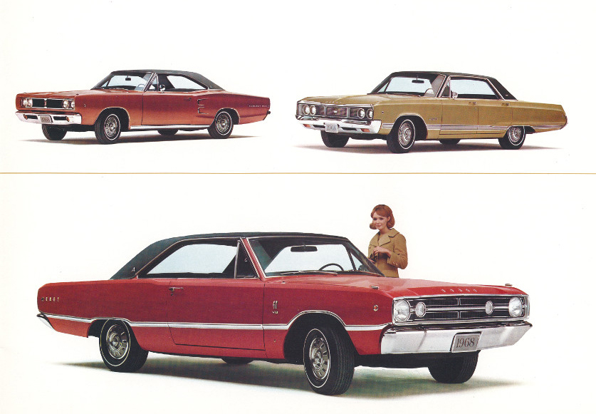 1968 Dodge Coronet 500 Dodge Monaco and Dodge Dart GT 5 Tate Collection RESIZED