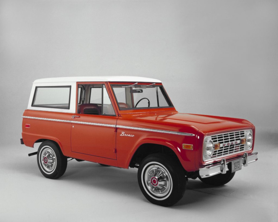 1973 Ford Bronco exterior Ford Motor Company Archives RESIZED 6
