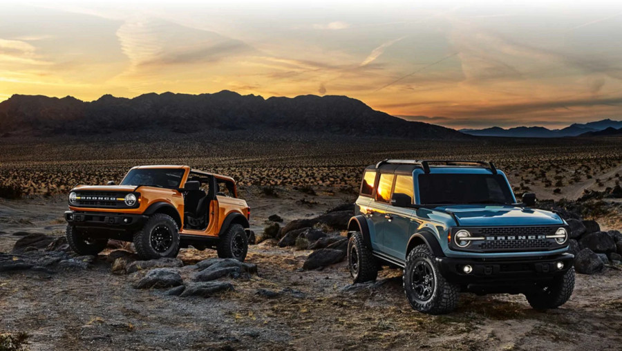 Two 2021 Ford Broncos Ford Motor Company RESIZED 10