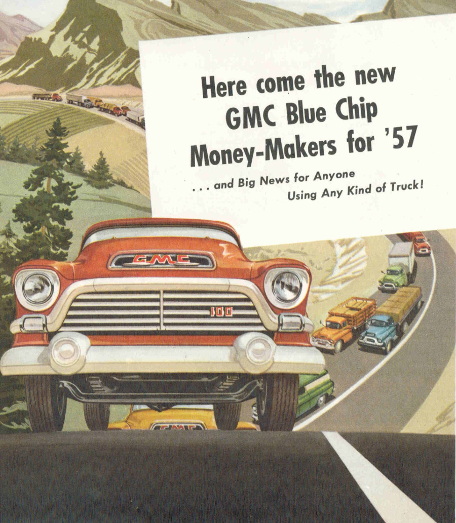 MotorCities - The 1957 GMC Trucks: From Durability to Style | 2014