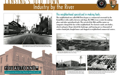 Lansing's Old Town Industry by the River