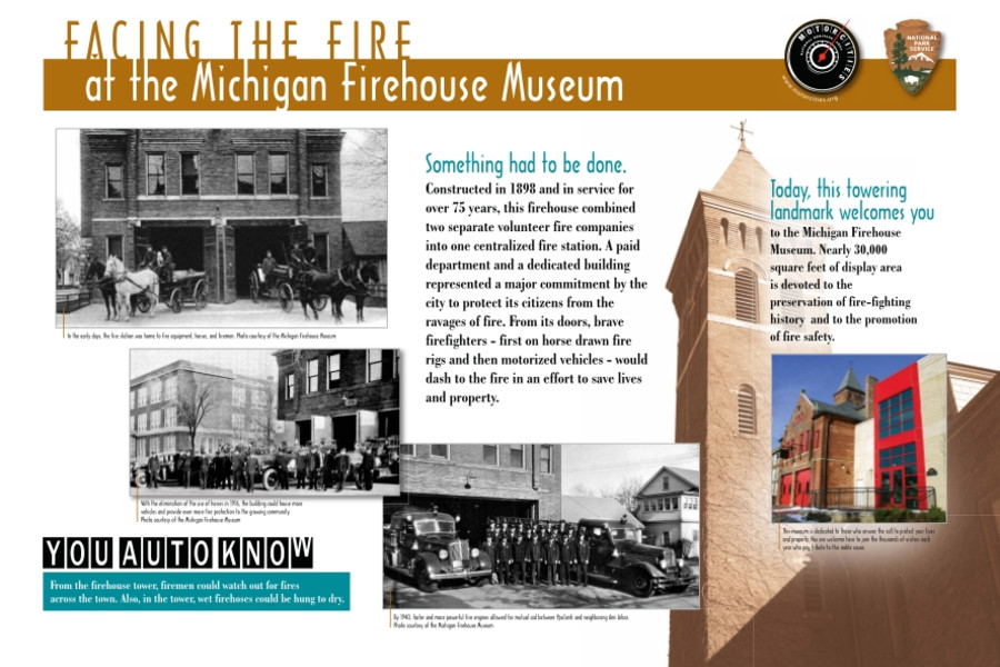 Facing the Fire of the Michigan Firehouse Museum