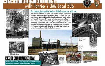 Fisher Body Building with Pontiac's UAW Local 596