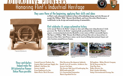Automotive Pioneers: Honoring Flint's Industrial Heritage