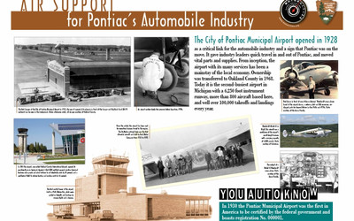 Air Support for Pontiac's Automobile Industry