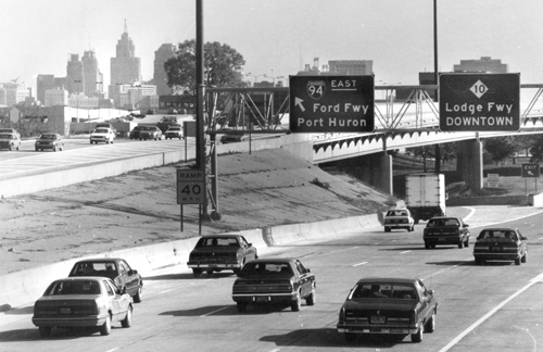MotorCities - A Brief History of the John C Lodge Freeway | 2016