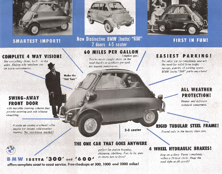 MotorCities - Remembering The Isetta, The Little Car That