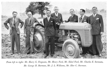 MotorCities - The Early Years of Ford Tractors (1907-1961
